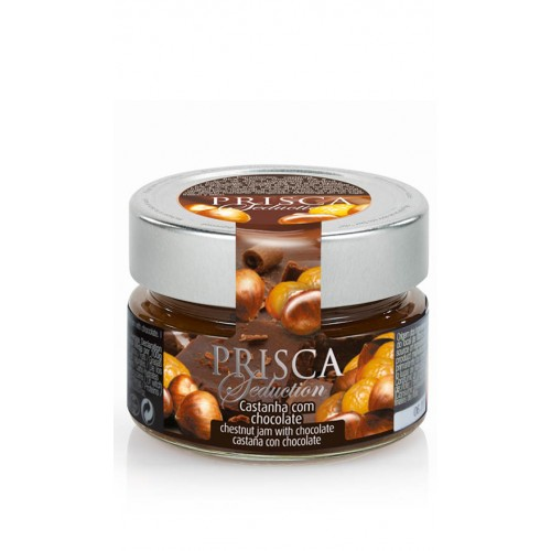 CASA DA PRISCA Seduction - Confiture de Châtaigne au Chocolat 125g